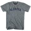 Albania City Vintage T-shirt in Athletic Blue by Mile End Sportswear