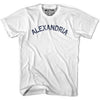 Alexandria City Vintage T-shirt in Grey Heather by Mile End Sportswear