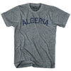 Algeria City Vintage T-shirt in Athletic Blue by Mile End Sportswear