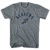 Algiers Track T-shirt in Athletic Grey by Mile End Sportswear