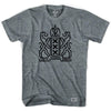 Amsterdam City Crest T-shirt in Athletic Grey by Ultras