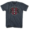 Amsterdam City Crest T-shirt in Asphalt by Neutral FC