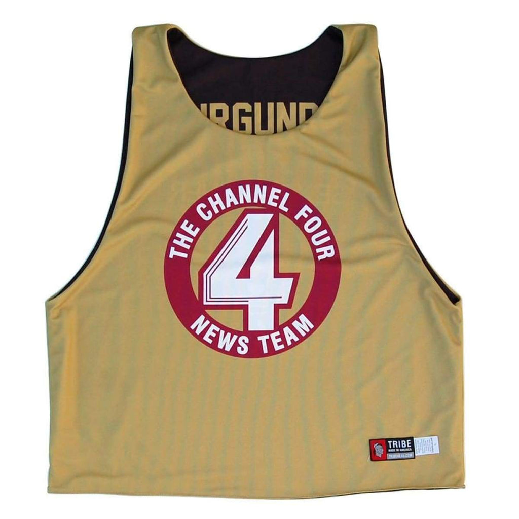 Anchorman Sublimated Lacrosse Pinnie - Graphic Lacrosse Pinnies