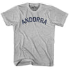 Andorra City Vintage T-shirt in Grey Heather by Mile End Sportswear