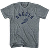 Angola Track T-shirt in Athletic Grey by Mile End Sportswear