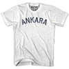 Ankara City Vintage T-shirt in Grey Heather by Mile End Sportswear