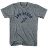 Ann Arbor Track T-shirt in Athletic Grey by Mile End Sportswear