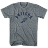 Antigua Track T-shirt in Athletic Grey by Mile End Sportswear