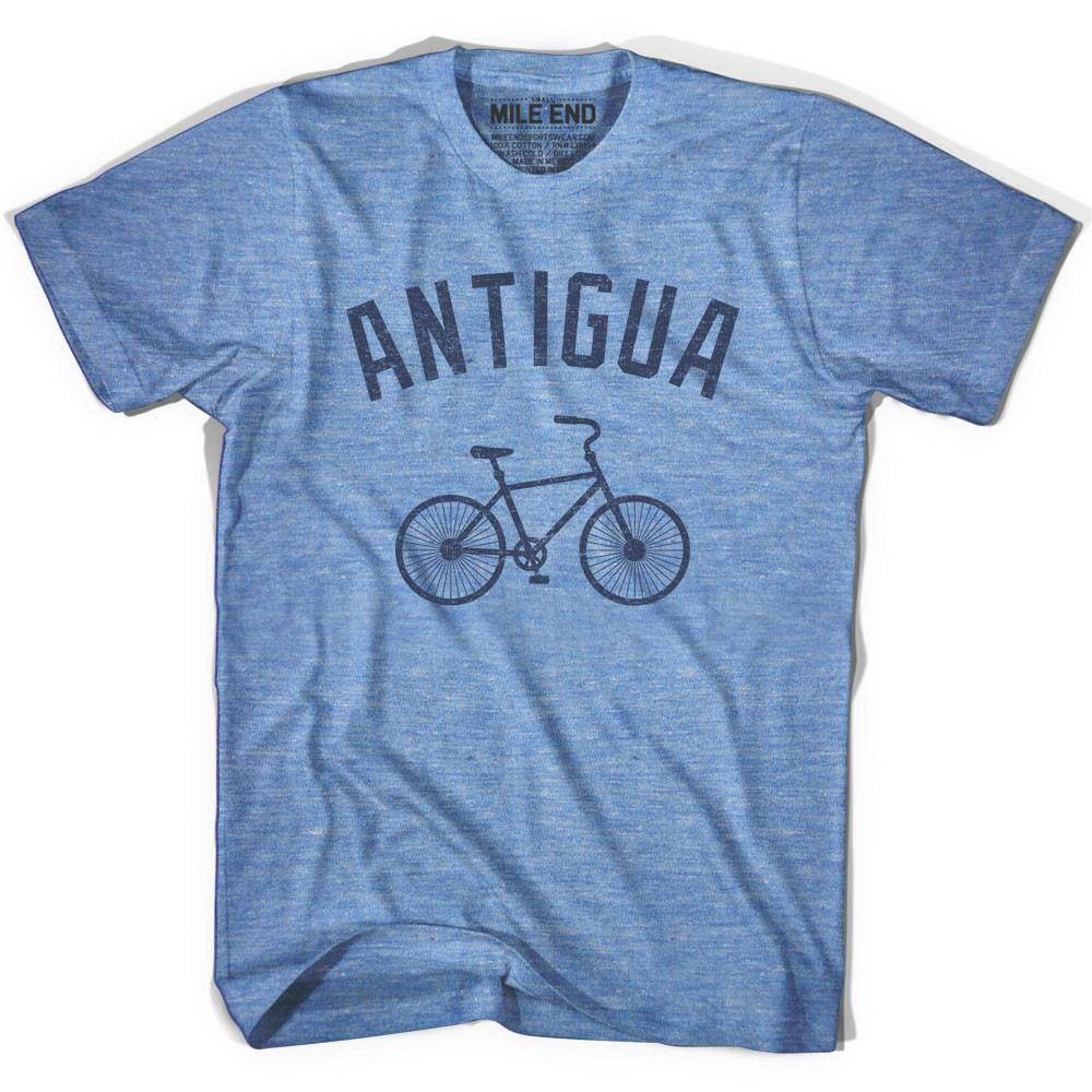 Antigua Vintage Bike T-shirt in Athletic Blue by Mile End Sportswear