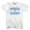Argentina Vintage Flag T-shirt in Cool Grey by Neutral FC