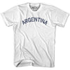 Argentina City Vintage T-shirt in Grey Heather by Mile End Sportswear