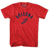 Arizona Track T-shirt in Heather Red by Mile End Sportswear