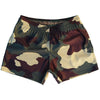 Army Woodland Camo Rugby Union Shorts