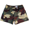 Army Woodland Camo Rugby Union Shorts by Ruckus Rugby