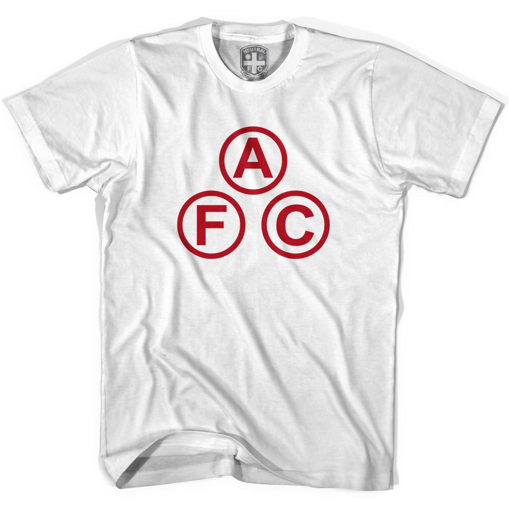Arsenal AFC Cannon Ball T-shirt in White by Neutral FC