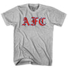 Arsenal AFC Script T-shirt in Cool Grey by Neutral FC