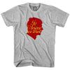 Arsenal In Arsene We Trust T-shirt in Cool Grey by Neutral FC
