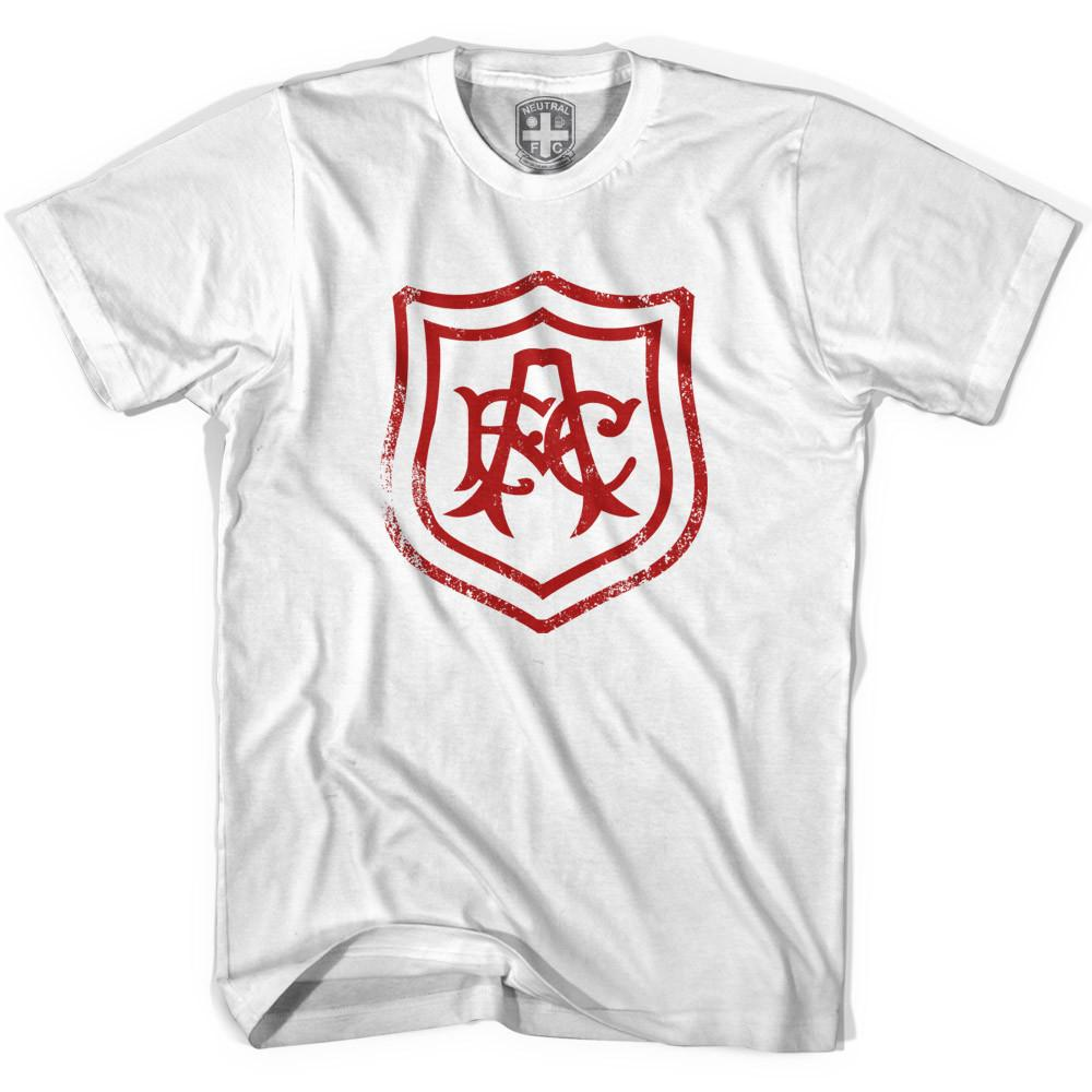 Arsenal AFC Crest T-shirt in White by Neutral FC