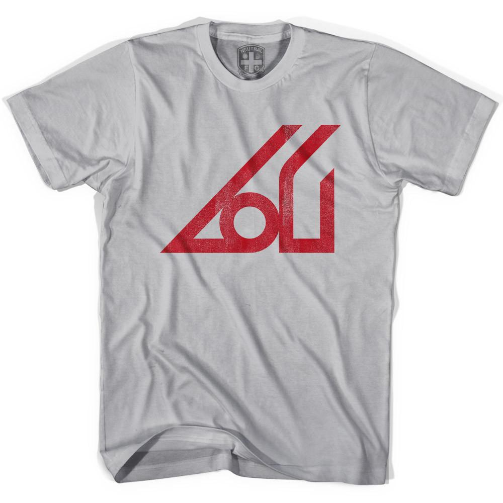 NASL Atlanta Appollo Soccer T-shirt in Cool Grey by Neutral FC