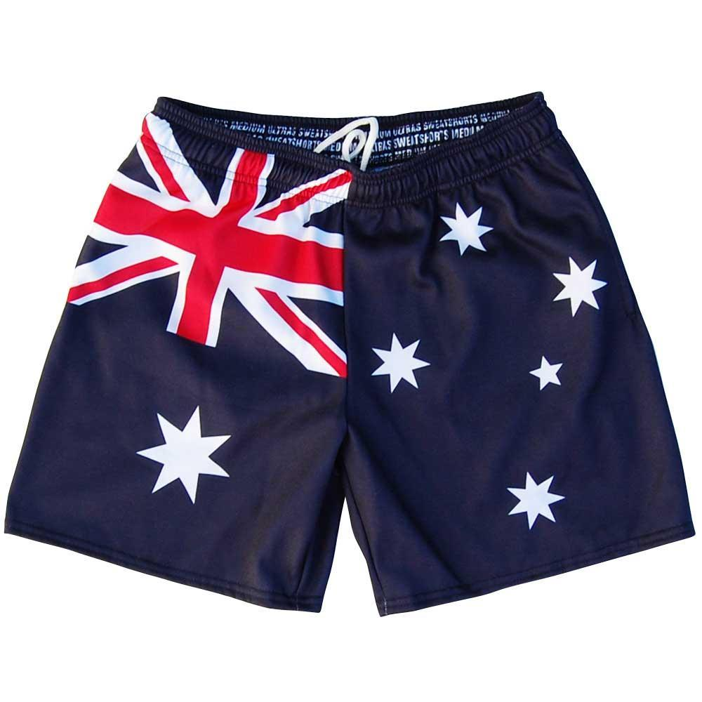 Australia Flag Athletic Fleece Sweatshorts