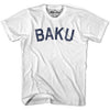 Baku City Vintage T-shirt in Grey Heather by Mile End Sportswear