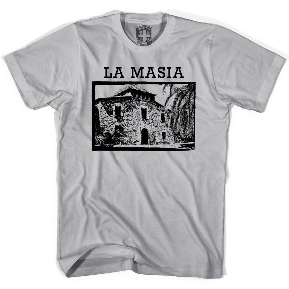 Barcelona La Masia T-shirt in Cool Grey by Neutral FC