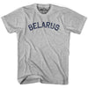 Belarus City Vintage T-shirt in Grey Heather by Mile End Sportswear