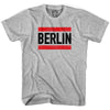 Run Berlin T-shirt in Cool Grey by Neutral FC