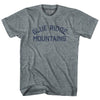 Blue Ridge Mountains Adult Tri-Blend T-Shirt