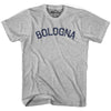 Bologna City Vintage T-shirt in Grey Heather by Mile End Sportswear