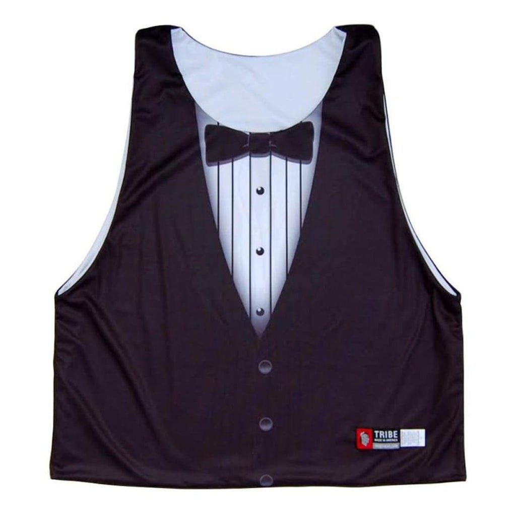 Bond Tuxedo Sublimated Lacrosse Pinnie - Graphic Lacrosse Pinnies