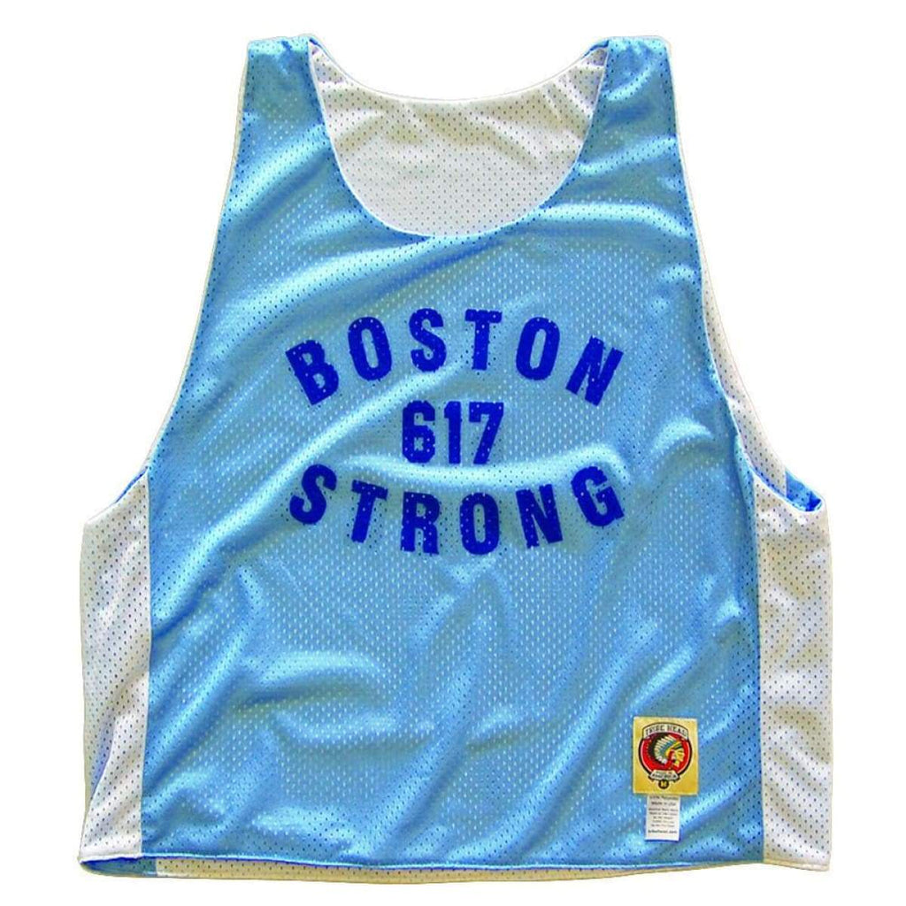Boston 617 Strong Lacrosse Pinnie - Graphic Mesh Lacrosse Pinnies