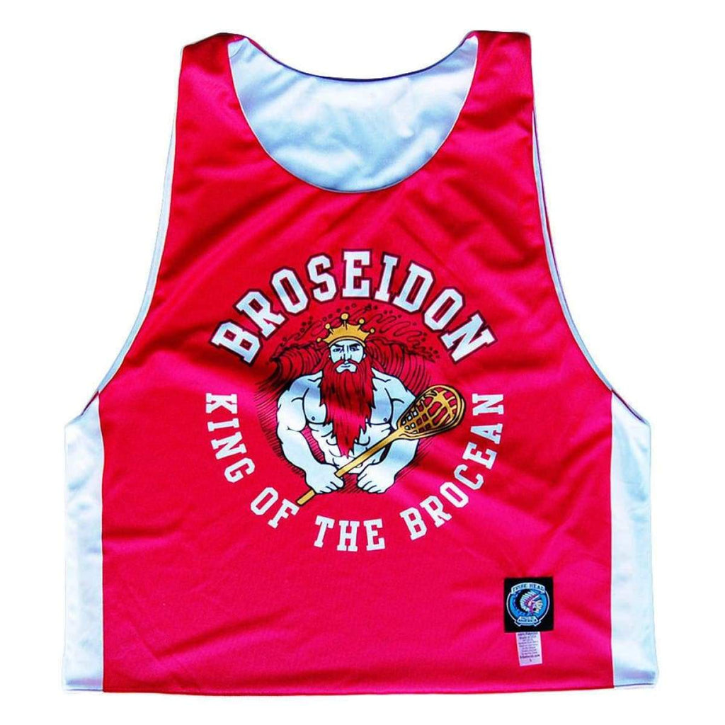 Broseidon Sublimated Lacrosse Pinnie - Graphic Lacrosse Pinnies