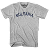 Bulgaria City Vintage T-shirt in Grey Heather by Mile End Sportswear