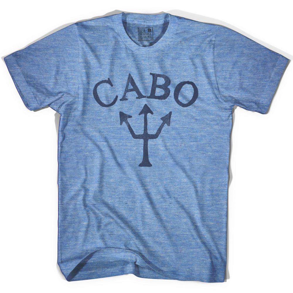 Cabo Trident T-shirt in Athletic Blue by Life On the Strand