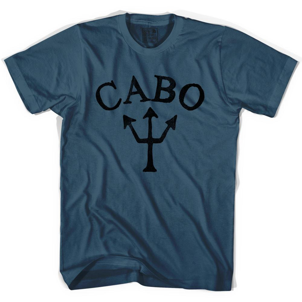 Cabo Trident T-shirt in Lake by Life On the Strand