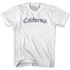 Womens California Old Town Font T-shirt By Ultras