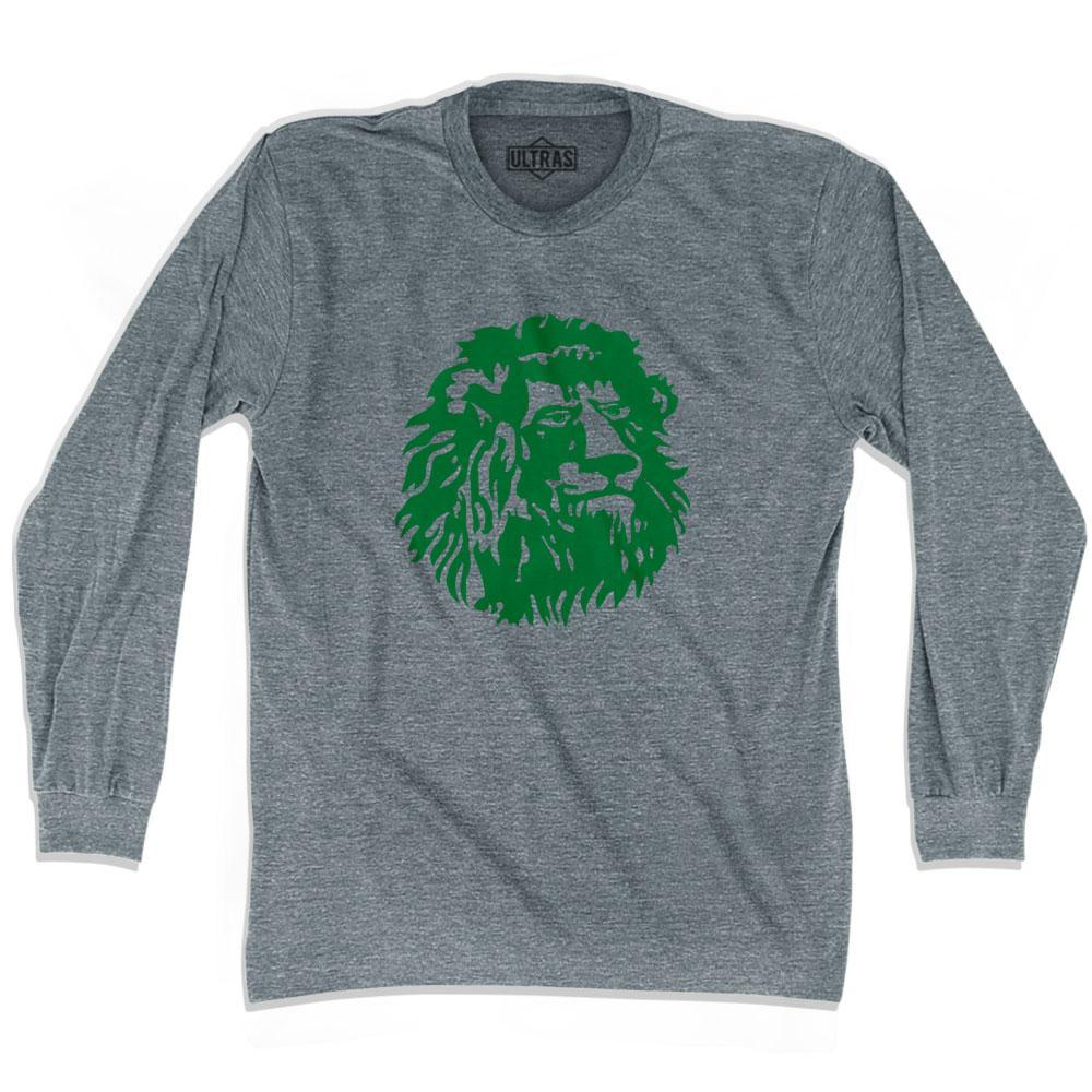 Ultras Cameroon Lion Soccer Long Sleeve T-shirt by Ultras