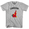 Cameroon Flag & Country T-shirt in White by Neutral FC