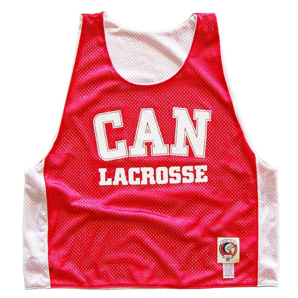 Canada CAN Lacrosse Pinnie - Graphic Mesh Lacrosse Pinnies