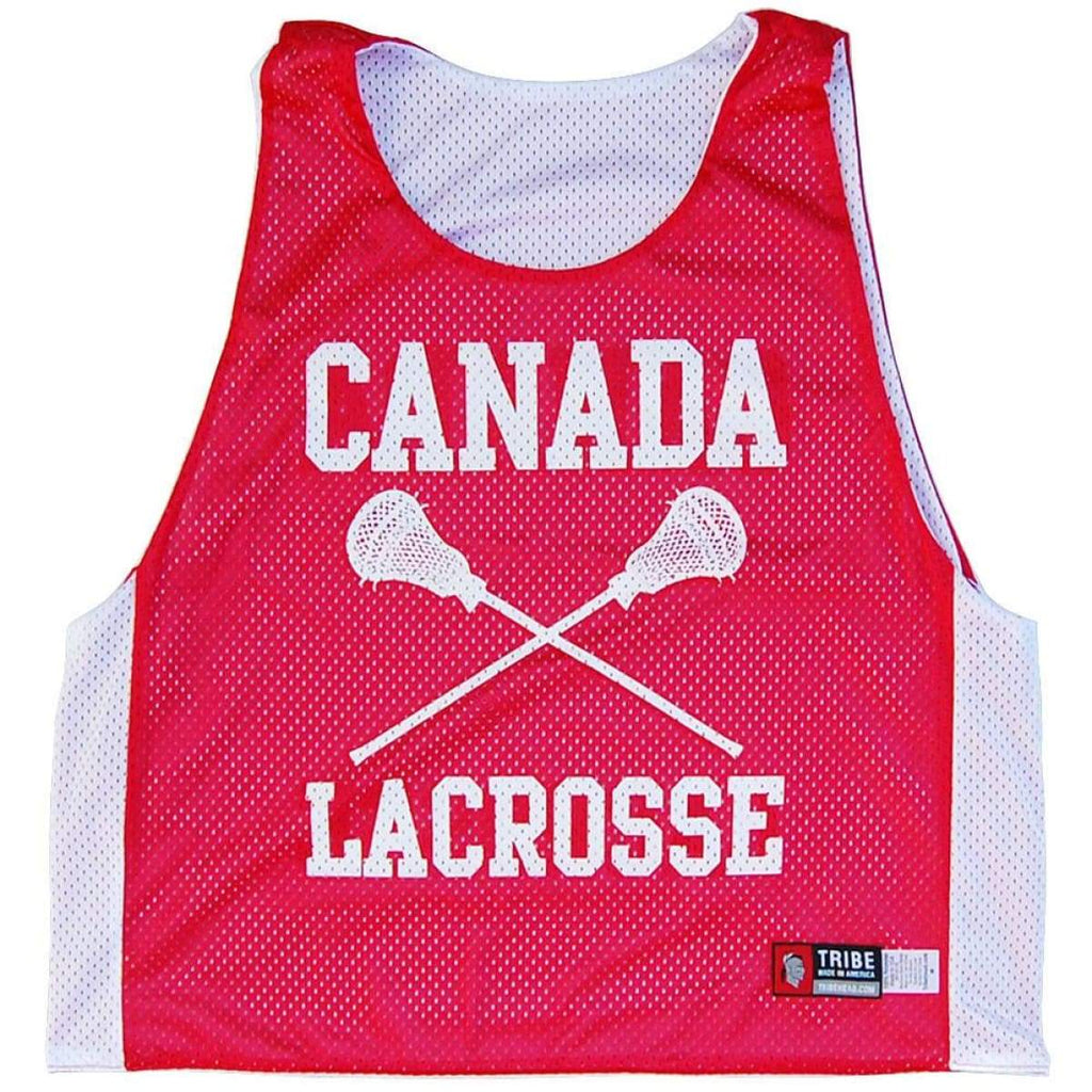 Canada Nations Lacrosse Pinnie - Graphic Mesh Lacrosse Pinnies