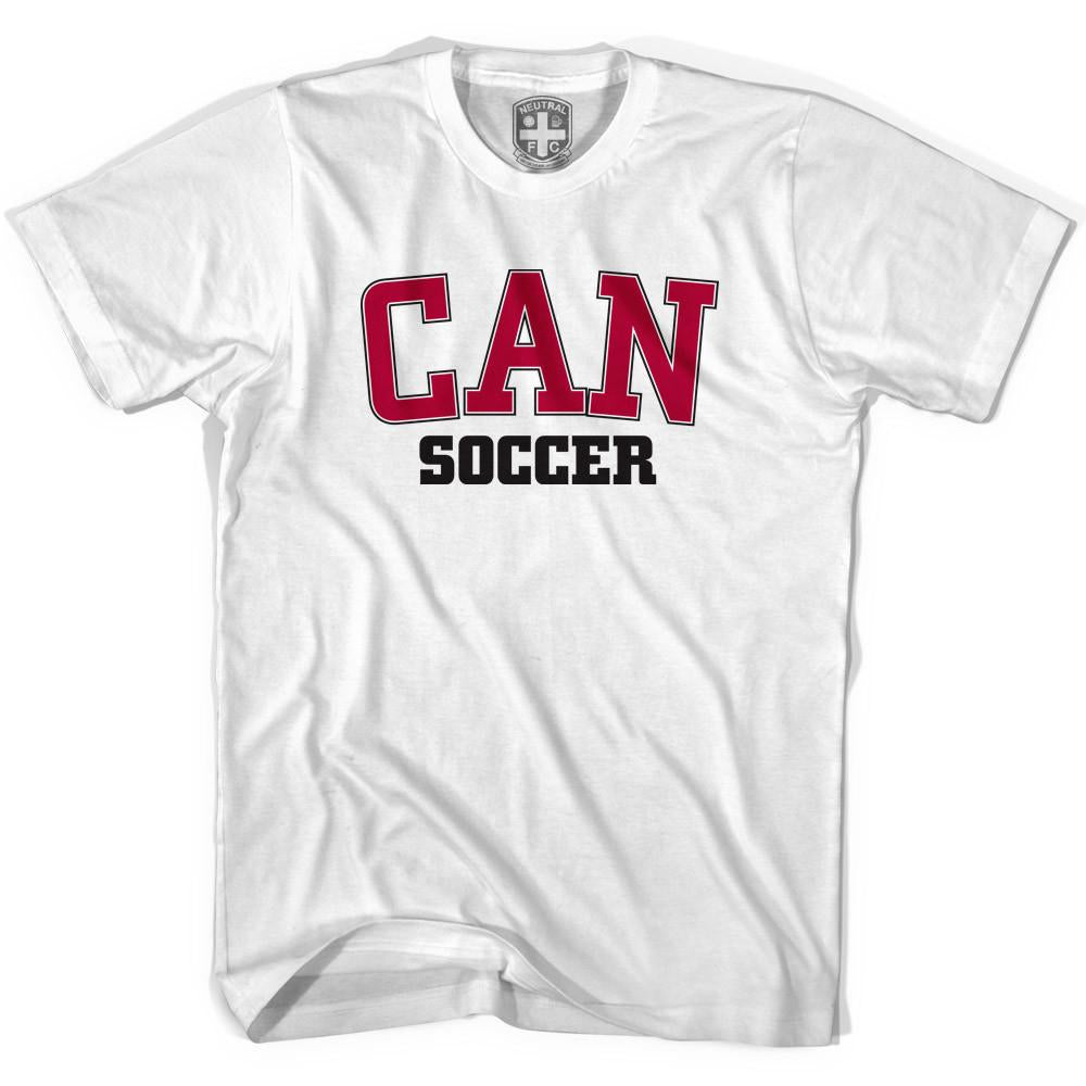 Canada CAN Soccer T-shirt in White by Neutral FC