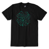 Celtic Clover Soccer T-shirt in Black by Neutral FC