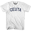 Ceuta City Vintage T-shirt in Grey Heather by Mile End Sportswear
