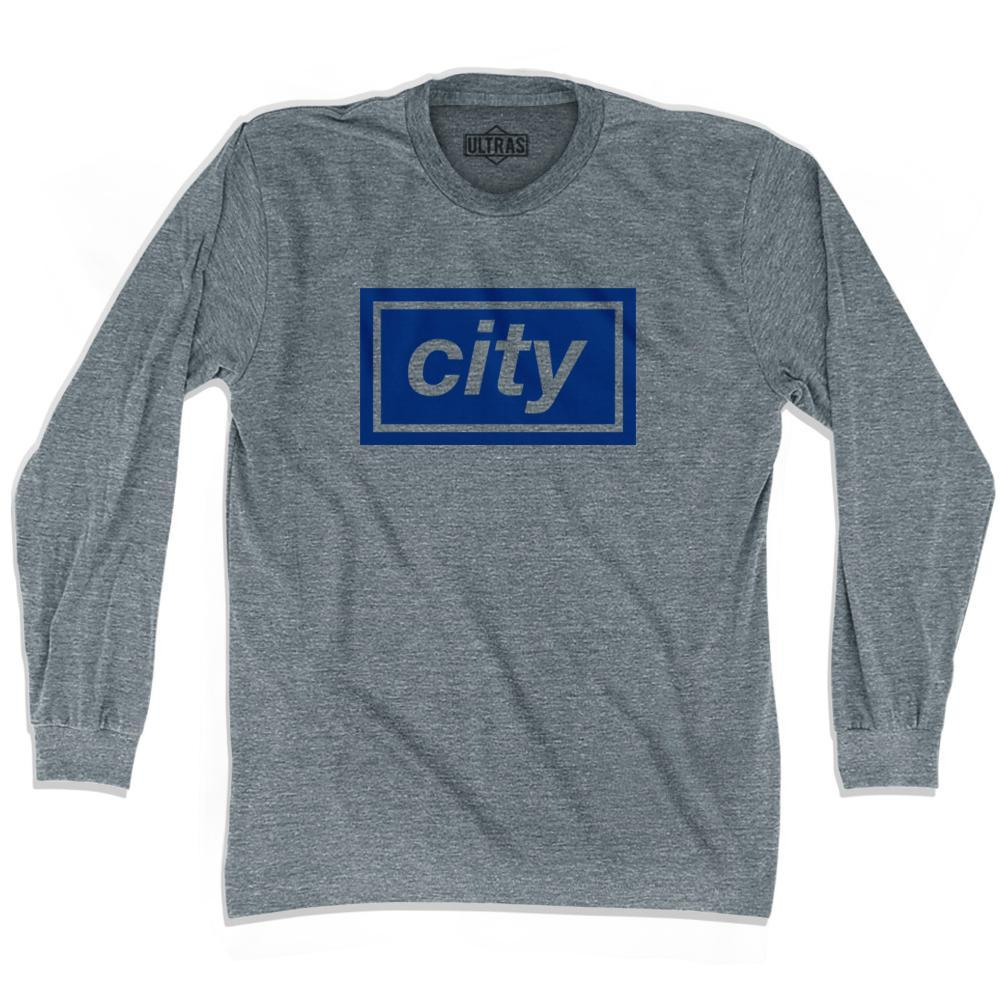 Ultras City Box Soccer Long Sleeve T-shirt by Ultras