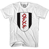 Deuce White T-shirt in Heather Grey by Neutral FC