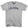 Cologne City Vintage T-shirt in Grey Heather by Mile End Sportswear