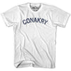 Conakry City Vintage T-shirt in Grey Heather by Mile End Sportswear