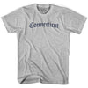 Connecticut Old Town Font T-shirt