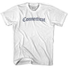 Connecticut Old Town Font T-shirt By Ultras